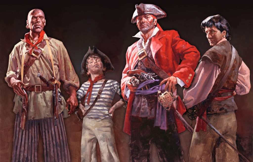 Whydah Pirate Characters